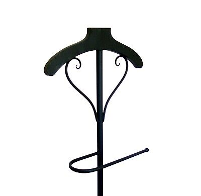 FRENCH STYLE valet  mannequin COAT STAND WROUGHT IRON  NEW antique brown