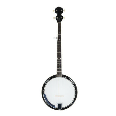 New Top Quality 5 String Banjo with Closed Back 24 Brackets Head & Maple Neck