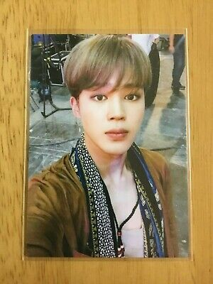 BTS love yourself JIMIN photocard ARMY Fanclub FC Japan Limited Official Rare