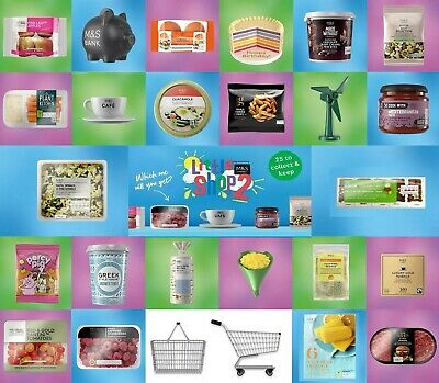 M&S Little Shop Collectable Marks And Spencer Mini Food