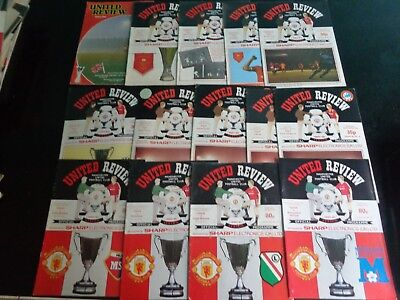 MANCHESTER UNITED v JUVENTUS EUROPEAN CUP WINNERS CUP semi final  1983/1984