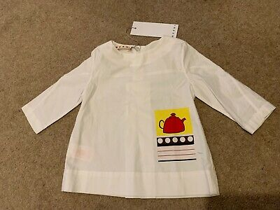 Marni Girls Age 4 Top Bnwt