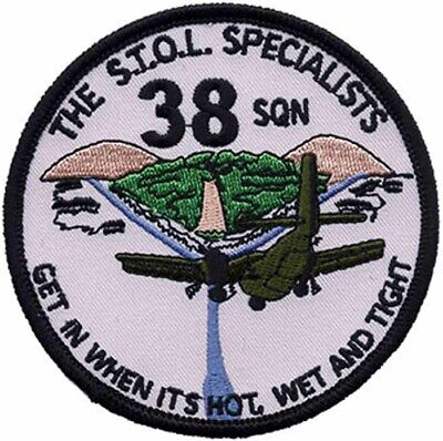 38 Squadron STOL Caribou Australia Embroidered Patch