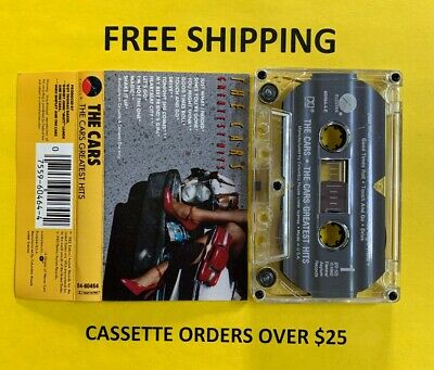 The Cars Greatest Hits Cassette Tape Tested