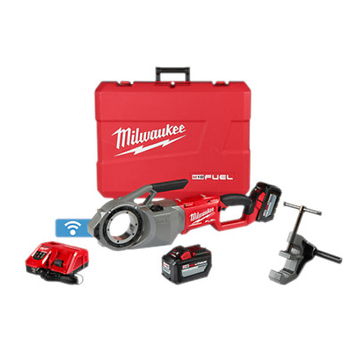 Milwaukee M18 FUEL™ Pipe Threader Kit - With ONE-KEY™ Technology