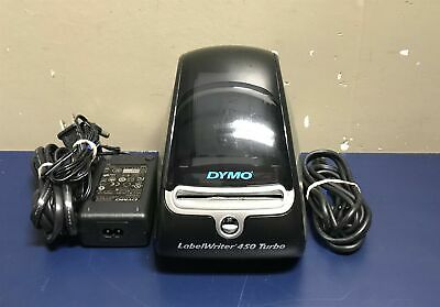 Dymo LabelWriter 450 Turbo Thermal Label/Postage/Barcode Printer w/ Box