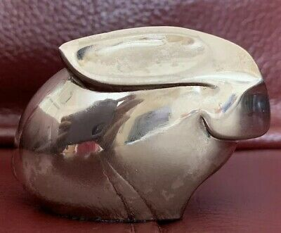 Dansk Silver Plated Rabbit Paperweight