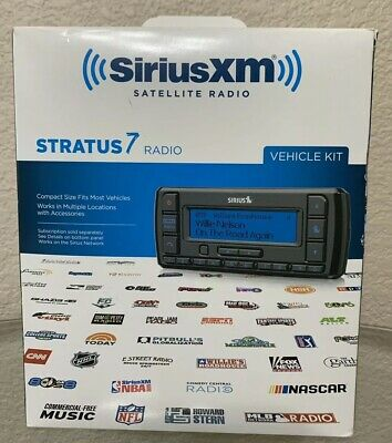 SIRIUS XM STRATUS 7 Sarellite Radio Vehicle Kit Never Used
