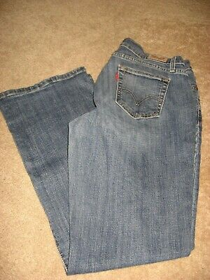 Womens LEVIS 529 Curvy Bootcut Stretch Jeans 10