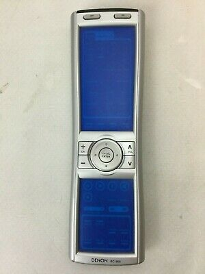 Denon RC-969 RC-970 Touch Screen Learning Universal Remote Control 3830 D5