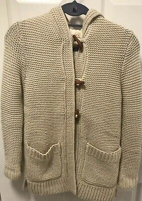 Zara Girls Age 9-10 Years Wool Mix Jacket  New Without Tags!!