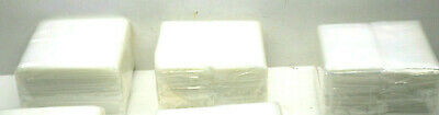 3,000 Heavy Duty Open End LDPE Clear Polybags Bags 3 Mil .003 Crease Heat Seal