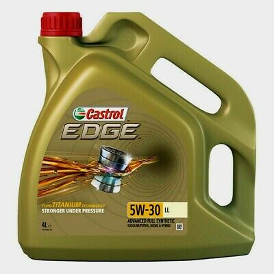 CASTROL  EDGE Titanium 5W-30 LLFULLY Synthetic Engine Oil 4 Litres 4L