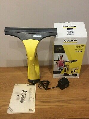 Karcher WV5 Window Vac Cordless Vacuum Rechargeable Glass Cleaner Plus