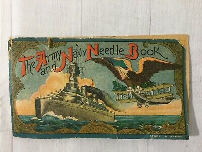Vintage 1950s Army and Navy needle booklet