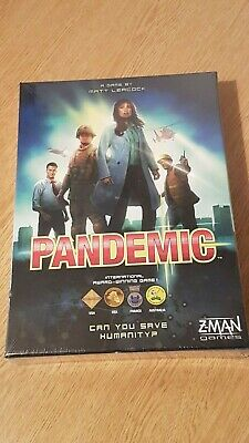 Pandemic Board Game Brand New Sealed By Z Man Games