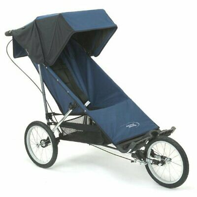 Baby Jogger Advance Mobility Freedom Push Chair Stroller w/16 inch Wheels – Navy