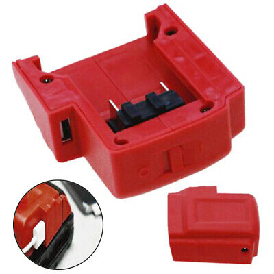 USB Charger Adapter Power-Source For Milwaukee M18-Battery Overcharge Protection