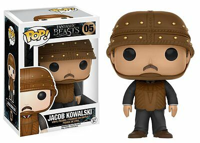 Jacob Kowalski Fantastic Beasts & Where To Find Them Pop Vinyl Funko Vaulted