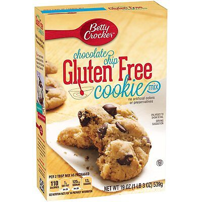 betty crocker chocolate chip GLUTEN FREE cookie mix 19 oz