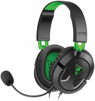 Turtle Beach Ear Force Recon 50X Stereo Gaming Headset for Xbox One PS4 Black