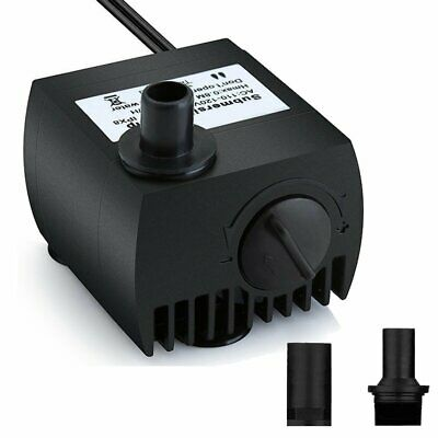 Maxesla Submersible Pump 80 GPH (300L/H) Fountain Water Pump Pond/Aquarium/Fi...