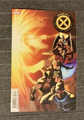House of X #3 Larraz Main Cover 1st Print 2019