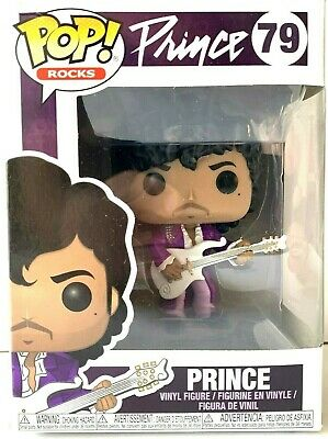 Prince Purple Rain - Pop! Music Rocks # 79 Vinyl Action Figure NEW SEALED in-box