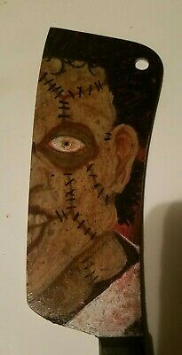 Leatherface real Meat Cleaver Painting Texas chainsaw massacre horror Halloween
