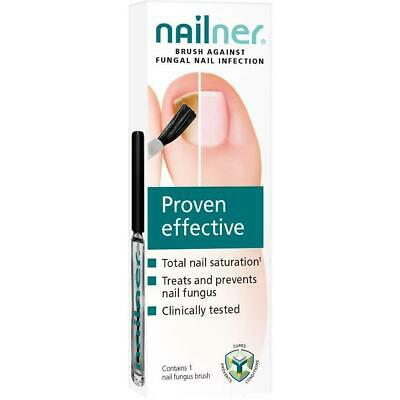Nailner Brush Toe Fungal  Nail Treatment Repair Nail Proven Effective 5ML BOXED
