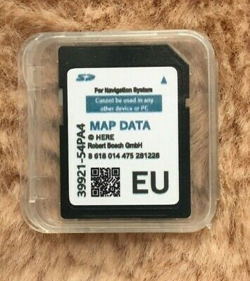 2019/2020 Suzuki Slda Bosch Sd Card Europe Map, Swift,Sx4 S-Cross,Vitara (Blu)