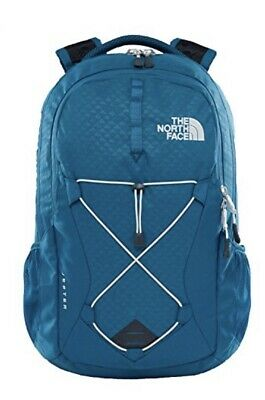 The North Face Women's Jester Laptop 15 Backpack Blue Coral Emboss/Vintage White