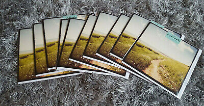 x10 BLANK Greeting Cards- High Quality- Countryside Scene