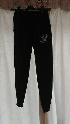 Siksilk Jogging bottoms Black size S