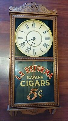 Beautiful SIGNED Antique Clock from 1890s - William L. Gilbert Clock Company