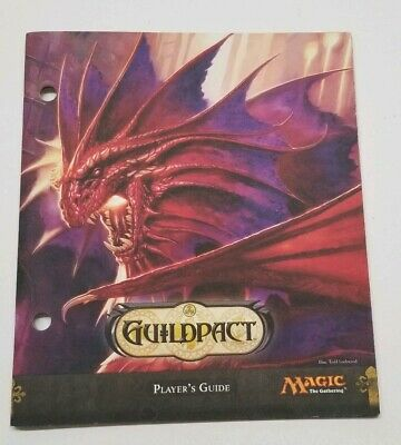 COMPLETE 3-piece GUILDPACT FRIDGE MAGNET SET-OOP PROMO MAGIC The Gathering MTG