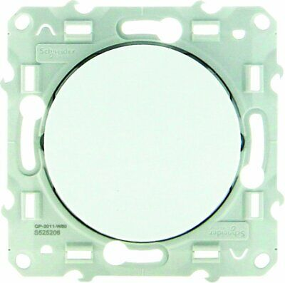 Schneider Electric Sc5S52A206 Poussoir Simple Odace 230 V Blanc (238)
