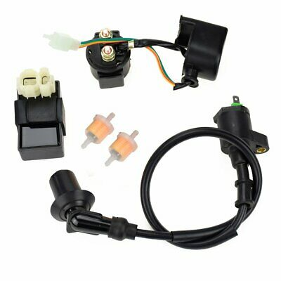 6PIN AC CDI Ignition Coil Relay Fuel Filters