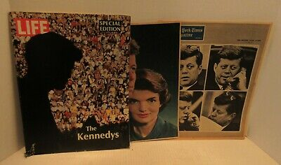 1962 The New York Times Magazine Life Magazine Special Edition The Kennedy's