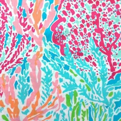 Lilly Pulitzer fabric Let's Cha Cha cotton poplin 18 X 18 inch increments