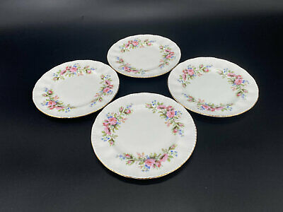 Aynsley Guildhall Tea Trio Tea Cup Saucer Plate Set Bone China England (a)