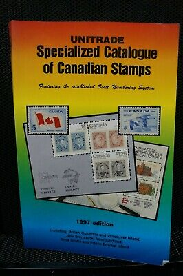 Unitrade Specialized Catalogue Of Canadian Stamps Book