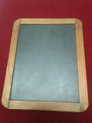 Antique Vintage School Board Graphite Plate For Writing /Pre-War Tablet !!!