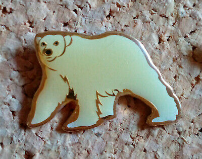 pin's pins Ours Blanc Polaire Animaux