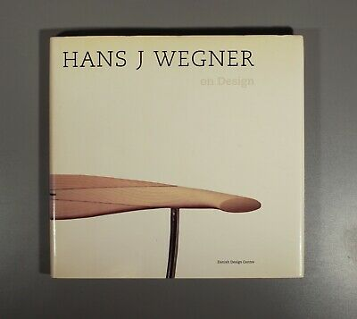 Hans J Wegner 1996 classic text by Jens Bernsen  Japanese English edition