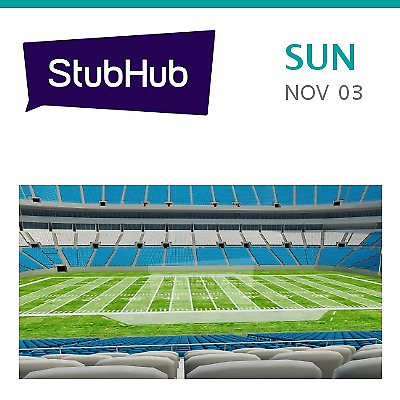 Tennessee Titans at Carolina Panthers Tickets - Charlotte