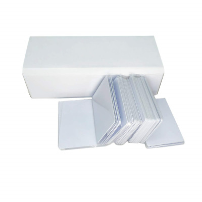 Inkjet PVC Cards 200Pcs Printable and Waterproof Compatible for All Inkjet Side