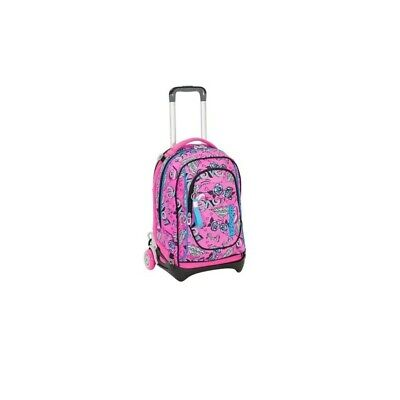 SEVEN jack keys - backpack with trolley candy fuxia
