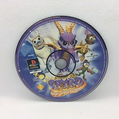 Ps1 Spyro Year Of The Dragon Disc Only Sony PlayStation One PAL