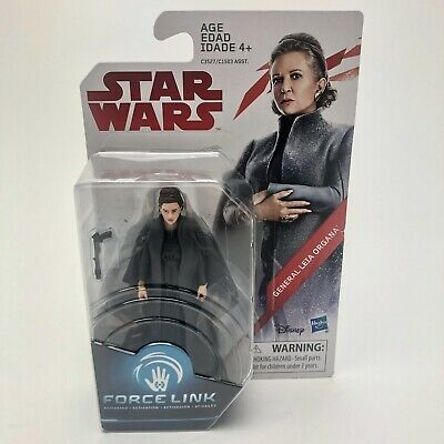 General Leia Organa Star Wars 3.75 Inch Action Figure Force Link Last Jedi C3527